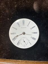 Waltham Canadian Railway Time Service 18s 17j Movement