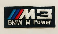 BMW EMBROIDERED PATCH Iron on, Sew on Serie 3