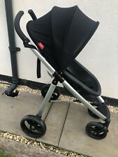 phil&teds smart pushchair In Black/silver With Rain Cover