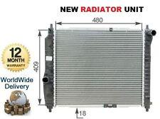 FOR CHEVROLET DAEWOO KALOS T200 1150cc HATCHBACK 2003-->ON NEW RADIATOR UNIT