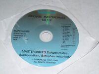Siemens 6SX7010-0FA10 Simovert Masterdrives CD Set, New