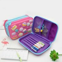 Cake Pencil Case Unicorn Escolar High Capacity Kalem Kutu Trousse Scolaire Stylo