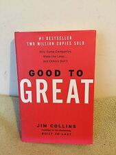 Good to Great by  Jim Collins (2001) HCDJ