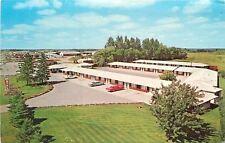 Wadena MN~Hwy 10 West: Storage Units Behind Twin Spruce Motel~Early 1970s