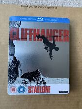 Cliffhanger (1993) UK Blu ray Steelbook NEW & SEALED Rare OOP Sylvester Stallone