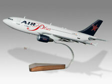 Airbus A310 Air Plus Comet Solid Mahogany Wood Handcrafted Desktop Model