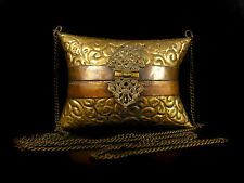 Sac à main oreiller art nouveau c 1900 curiosité de mode Pillow handbag 12 cm