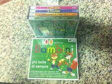 Le 100 canzoni per bambini più belle di sempre COFANETTO 4 CD