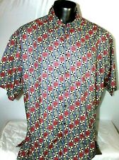 COOKE STREET HONOLULU 100% Cotton Aloha Hawaiian Camp Shirt Men's Size XL