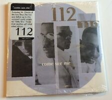 112 Come See Me 1996 2 Track Cd Rare Bad Boy Puffy Cardboard Slipcover Oop