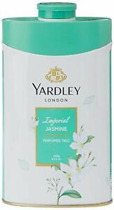 Yardley London Perfumed Talc Imperial Jasmine 250 gm x 2 Pack Talcum Powder