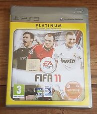 FIFA 11 Platinum Jeu Sur Sony PS3 Playstation 3 Neuf Sous Blister VF