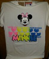 Vintage 80s Minnie Mouse Puffy Paint Lenticular Eyes Single Stitch USA XL Shirt