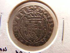 Portugal 1495-1521 (ND) Silver Vintem, 20 Reis, VF++,  Lisbon Mint