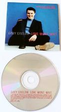 GARY BARLOW - Love Won't Wait (CD Single Pt 1) (G+/EX)