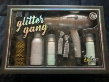 Drybar Glitter Gang Buttercup Blow Dryer Brush 6 PC Holiday Gift Set New In Box