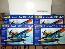 1/72 Plastikbausatz-Konvolut 4 X Arado Ar 196 A-3 Schwimmflugzeug REVELL 03994