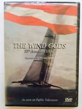 The Wind Gods ~ As Seen On PBS (DVD) 33rd America's Cup Jeremy Irons BRAND NEW