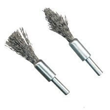 Small De Carb Set Brush Steel Wire Brushes Use Wth Power Drills  UK Seller