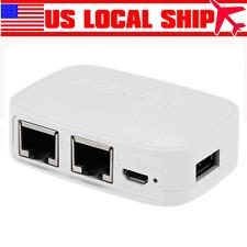 Portable Mini WiFi Wireless NAS Router AP Reapeater 300Mbps USB WAN LAN Hotspot