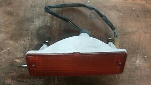 82-83 DATSUN 280ZX FRONT PARKING TURN SIGNAL HOUSING WITH LENS RH NICE OEM PART!