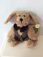 """Boyds Bears Plush Dog """"Indy"""" Style #91757-12 with tags"""
