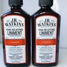 Watkins Red Liniment Lot Of 2,(11oz. Each)