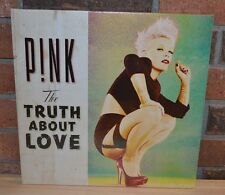 PINK - The Truth About Love, Limited Import 2LP PINK VINYL Gatefold NEW!