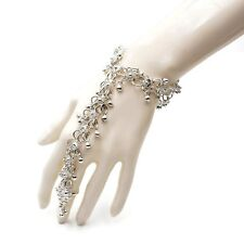 Fashion Slave Bracelet Silver Plated Oxidized Ring Belly Dancer Jewelry