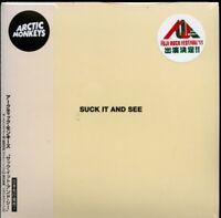 ARCTIC MONKEYS-SUCK IT AND SEE-JAPAN CD BONUS TRACK F22