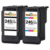 Replacement for Canon PG-245XL CL-246XL Ink Cartridges for PIXMA iP2820 MG2420