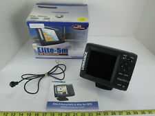 Lowrance Elite-5m Gold Color Gps Chartplotter Boat Marine Depth Fish Finder