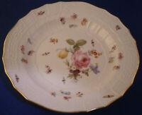 Antique 19thC Meissen Porcelain Kaiser Wilhelm II Soup Plate Porzellan Teller