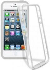 FUNDA BUMPER TRANSPARENTE CON BOTONES PARA iPhone 4s
