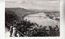 BF33403 view out of the gellert mountains  budapest hungary   front/back image