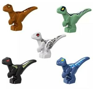 5X Jurassic World Mini Dinosaur Minifigure Baby Dinosaur Building Block Fit Lego