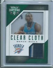 2014-15 Panini Totally Certified CLEAR CLOTH SERGE IBAKA PATCH 1/5