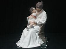 Royal Copenhagen Rare Large Collectible Porcelain Figurine Mother and Child MINT