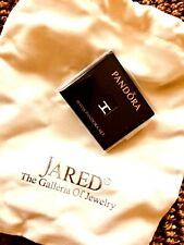 925 Silver PANDORA Floating Locket Charm Letter H Jared Fine Jewelry NIB