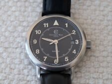 Christopher Ward C5 Malvern MK1 Aviator Automatic Black Sapphire Crystal. Boxed
