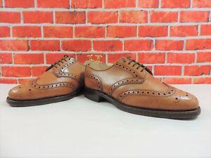 Church's Cheaney Mens Shoes Brogues Macs Amillion UK 8 US 9 EU 42 F