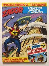 Zagor Speciale n.3 Ed.Bonelli 1990 senza allegato