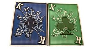 Lucky King Double Sided Poker Card Guard NEW & EXCLUSIVE to THE POKER STORE