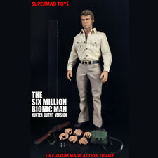 SUPERMAD TOYS 1/6 The Six Million Bionic Man Hunter Outfit Version Action Figure