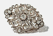18 Carat Diamond Brooch/Pin Victorian Fine Jewellery