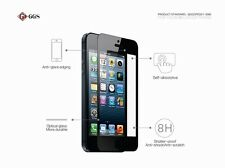 Ggs 0.5mm Self-Adhesive Glass Lcd Screen Protector for Apple iPhone 4 4S Black