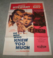 THE MAN WHO KNEW TOO MUCH - ALFRED HITCHCOCK ORIGINAL 1956 RELEASE!