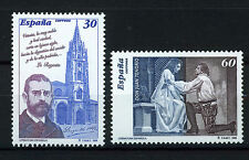 SPAIN ESPAÑA 1996 MNH SC.2874/75 Literature,Don Juan Tenorio and L.A.Clarín