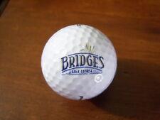 Logo Golf Ball-Bridges Golf Course.Wisconsin.