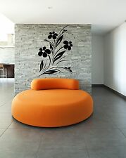 Wall Stickers Vinyl Decal Flowers Abstract Decor For Living Room z1208